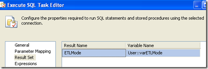 "SSIS - ""Full result set"" to a set variable of Object (4/6)"