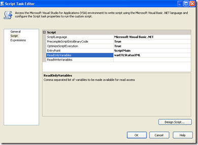 SSIS - Display Variable Value in a Script Task msgbox function (5/6)